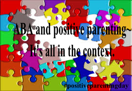 ABA and positive parenting